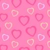 Širdutės iš popieriaus Valentino dienai